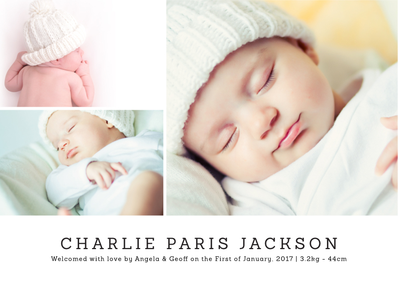 You're home - Baby Announcement