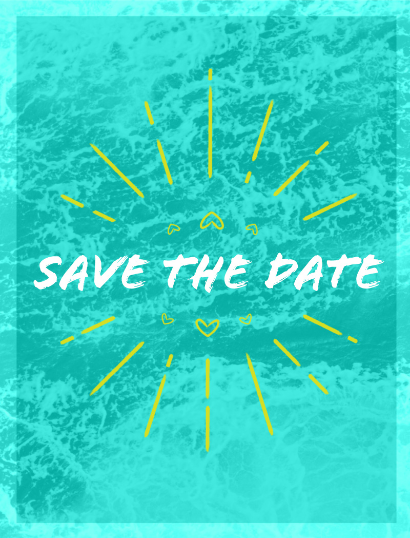 Aqua Waves - Save The Date
