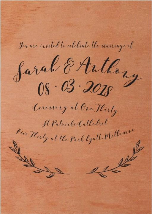 Simple Elegance - Invitations