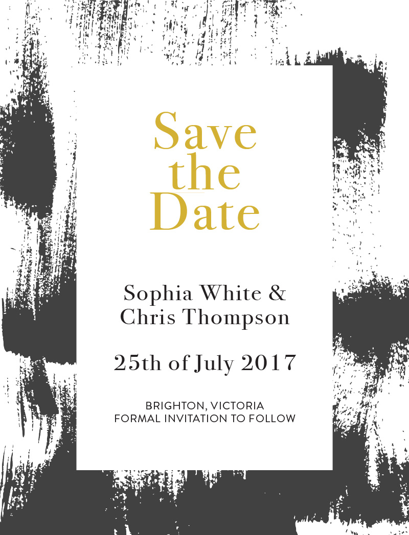 Gold Strokes - Save The Date