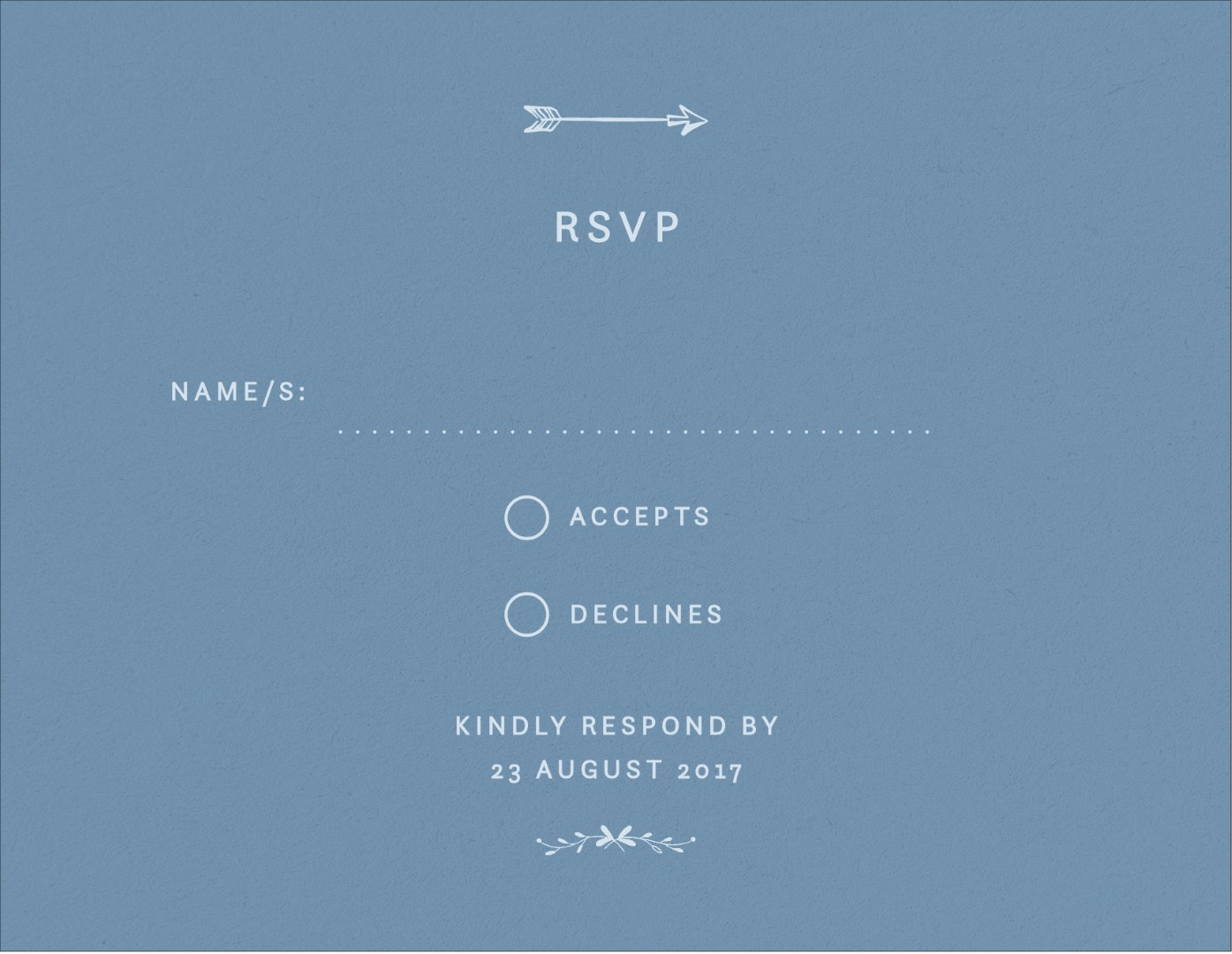 Swan Valley - RSVP Cards