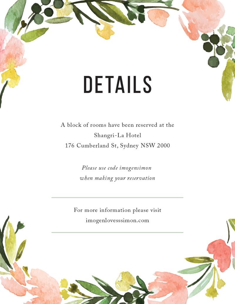 Wreath - Information Card