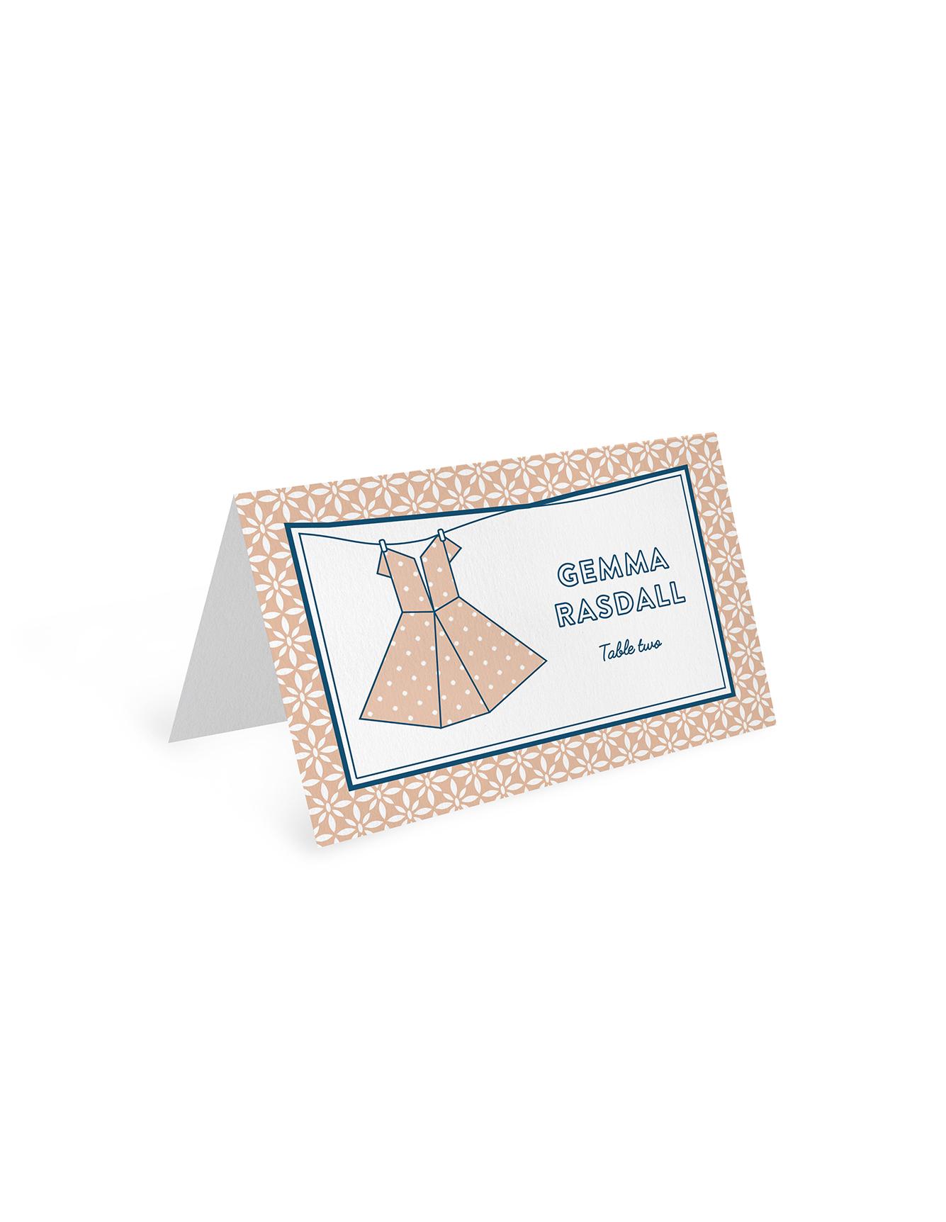 Kawaii - Place Card Type 2