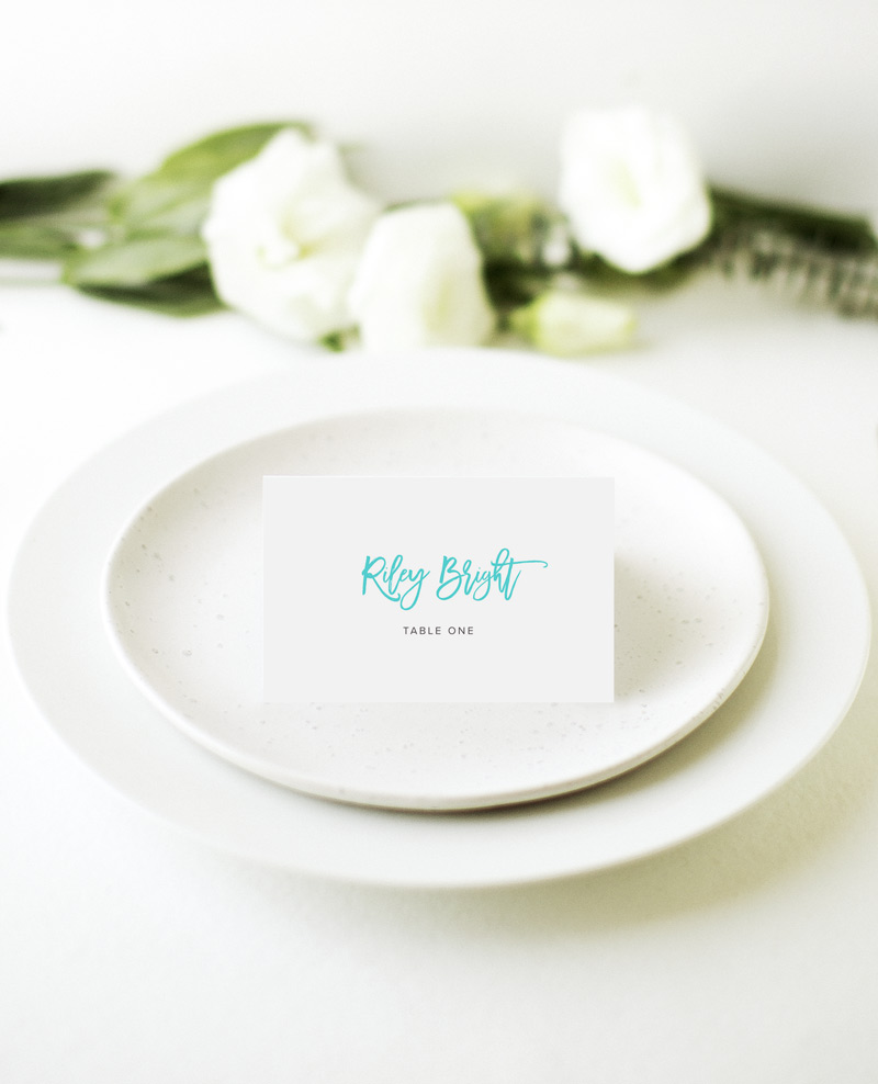 Swell - Place Card