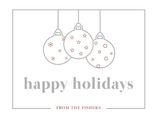 Minimal Christmas - christmas cards
