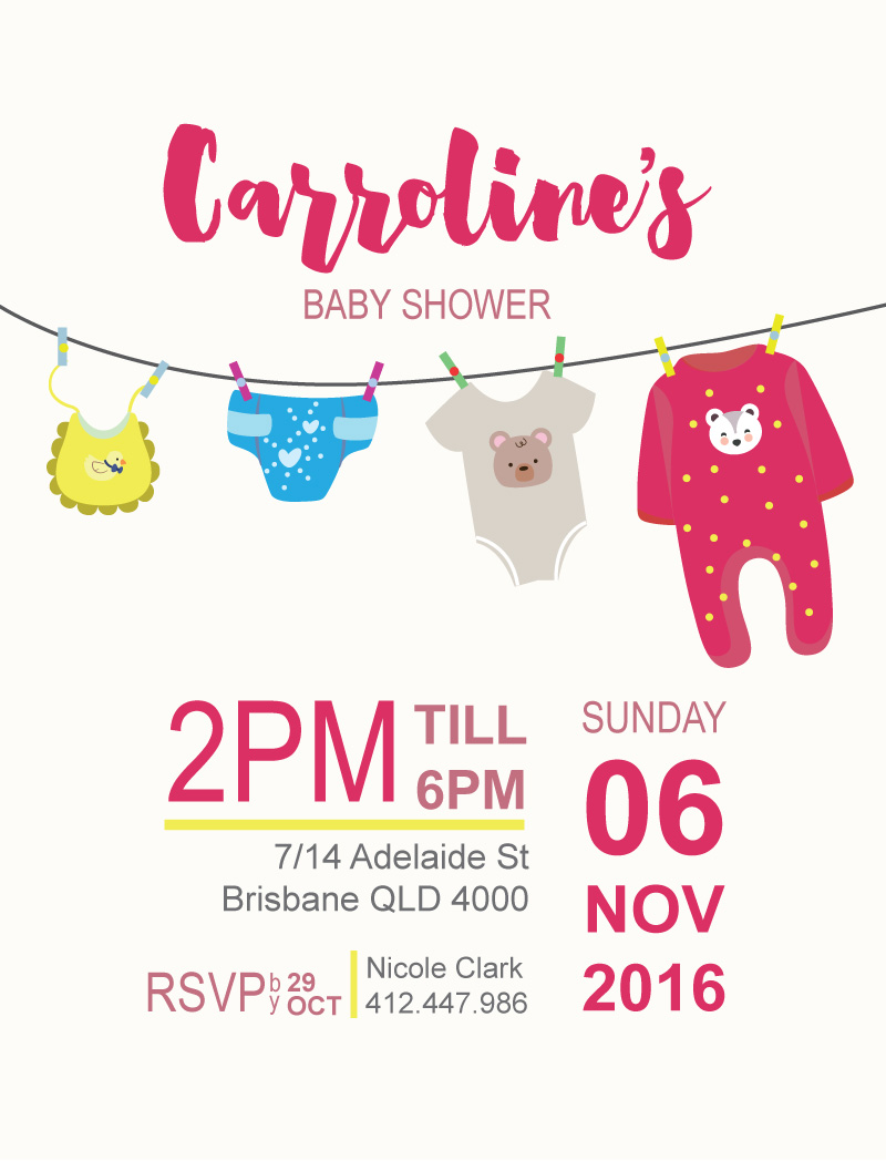 Joyful - Baby Shower Invitations