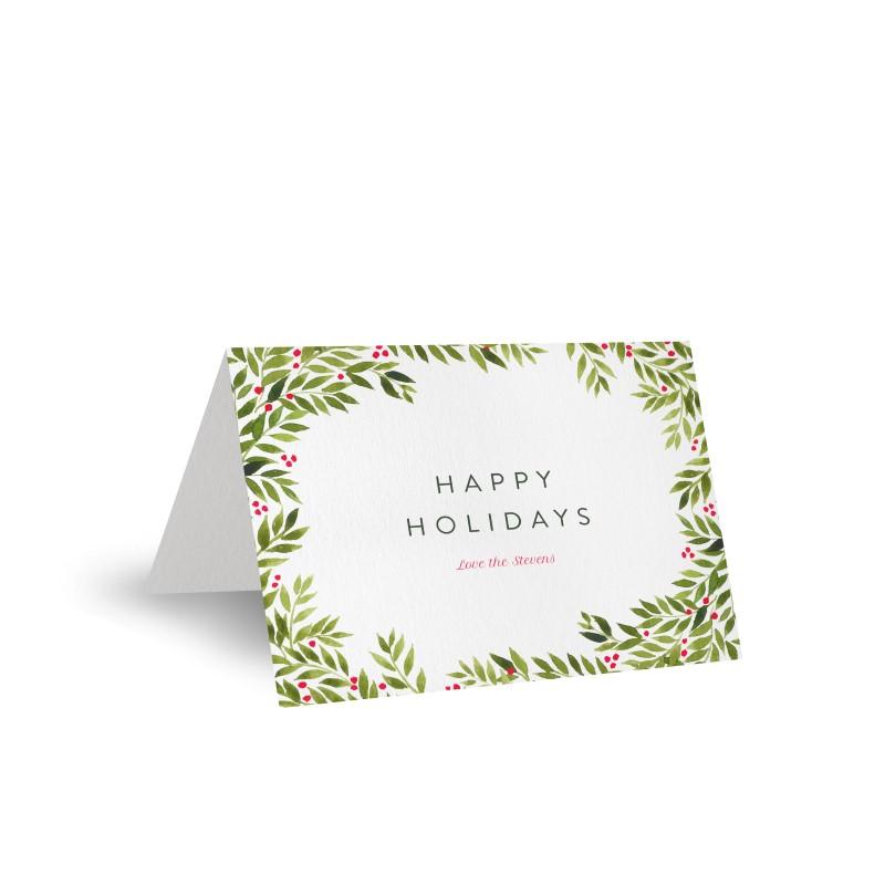 Christmas Wreath - Christmas Cards