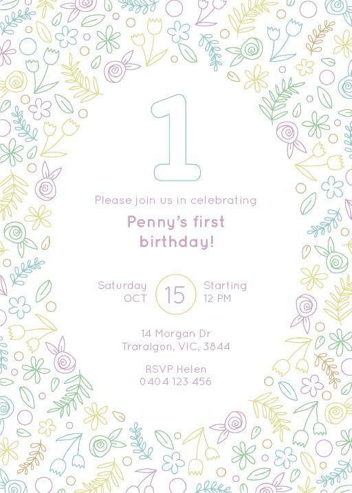 Wild One Birthday - Birthday Invitations
