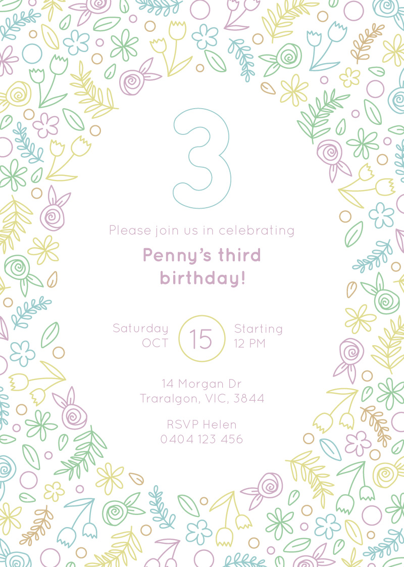 Wild One Birthday - Birthday Invitations