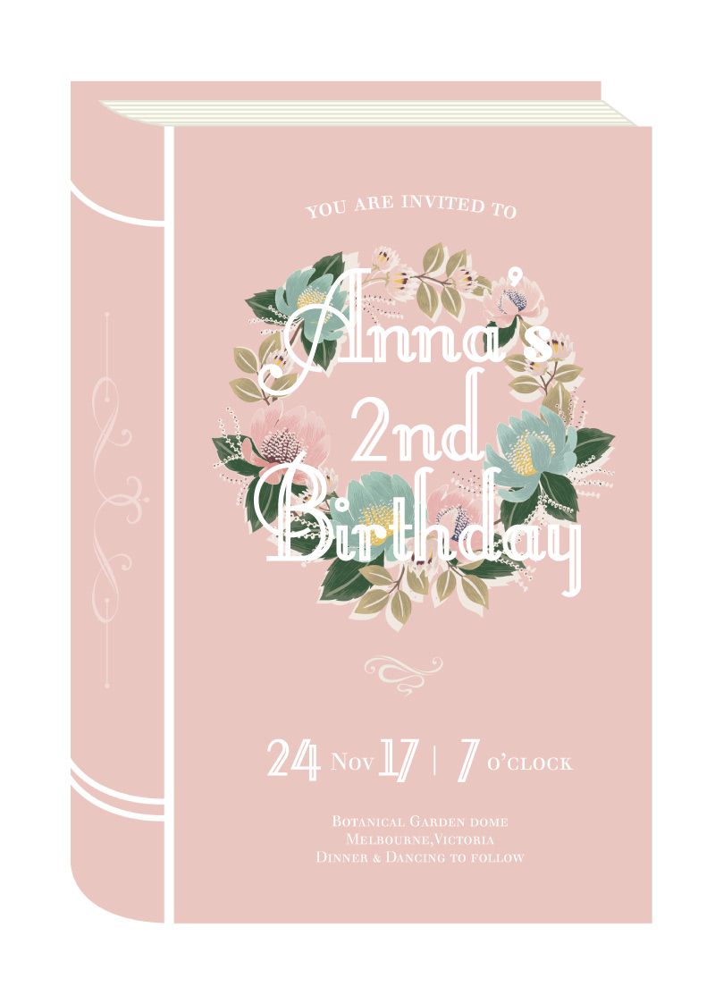 Once Upon A Time - Fairytale Birthday Invitations