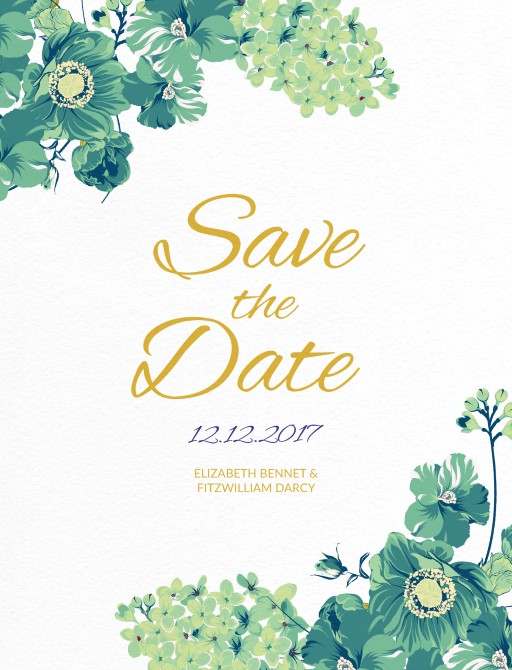 Florale - Save The Date