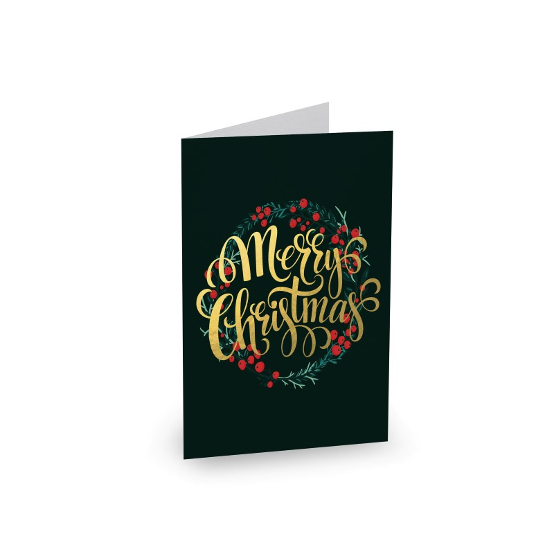 Gold Christmas - Christmas Cards