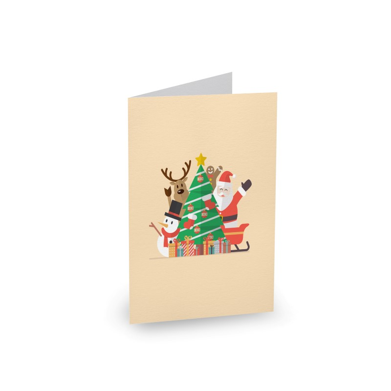 Christmas with Santa - Christmas Cards