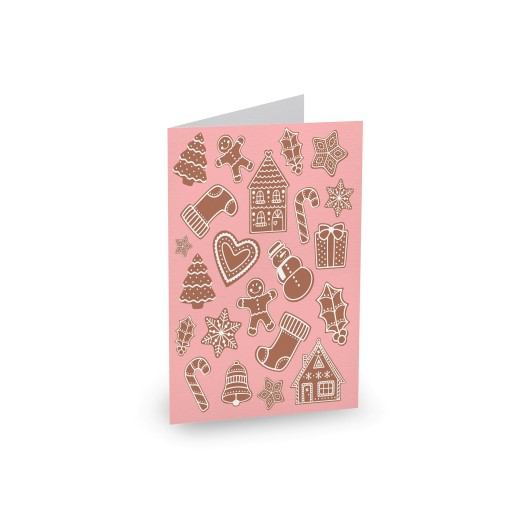 Gingerbread Cookies Type 2 - christmas cards