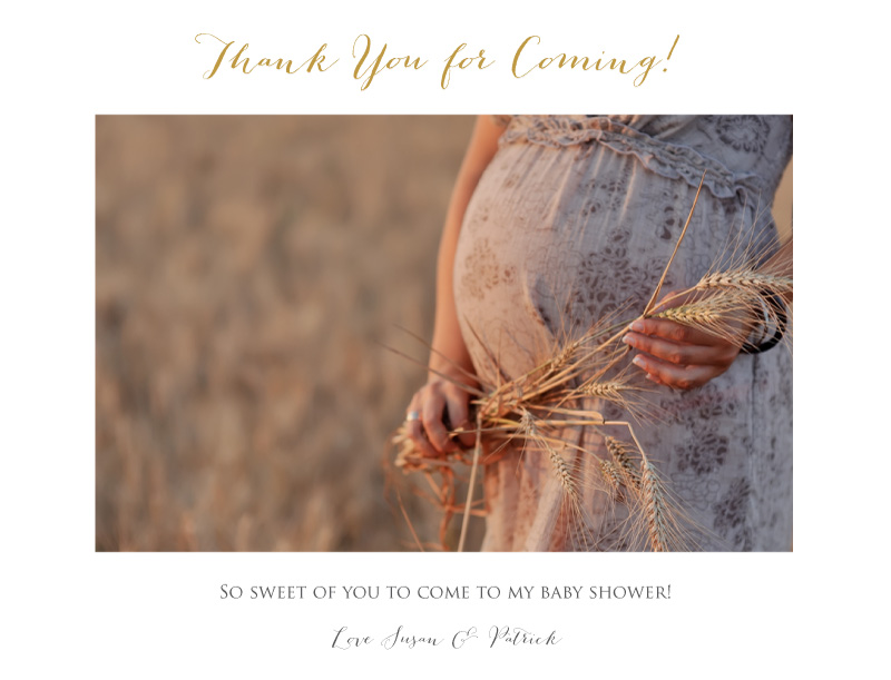 The Perfect Moment - Baby Shower Thank You Cards