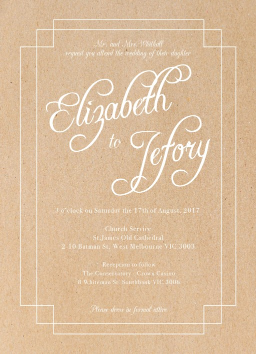 Elegance - Invitations