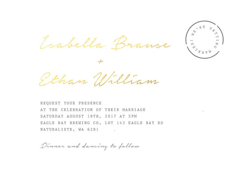 Classic Letter - Invitations