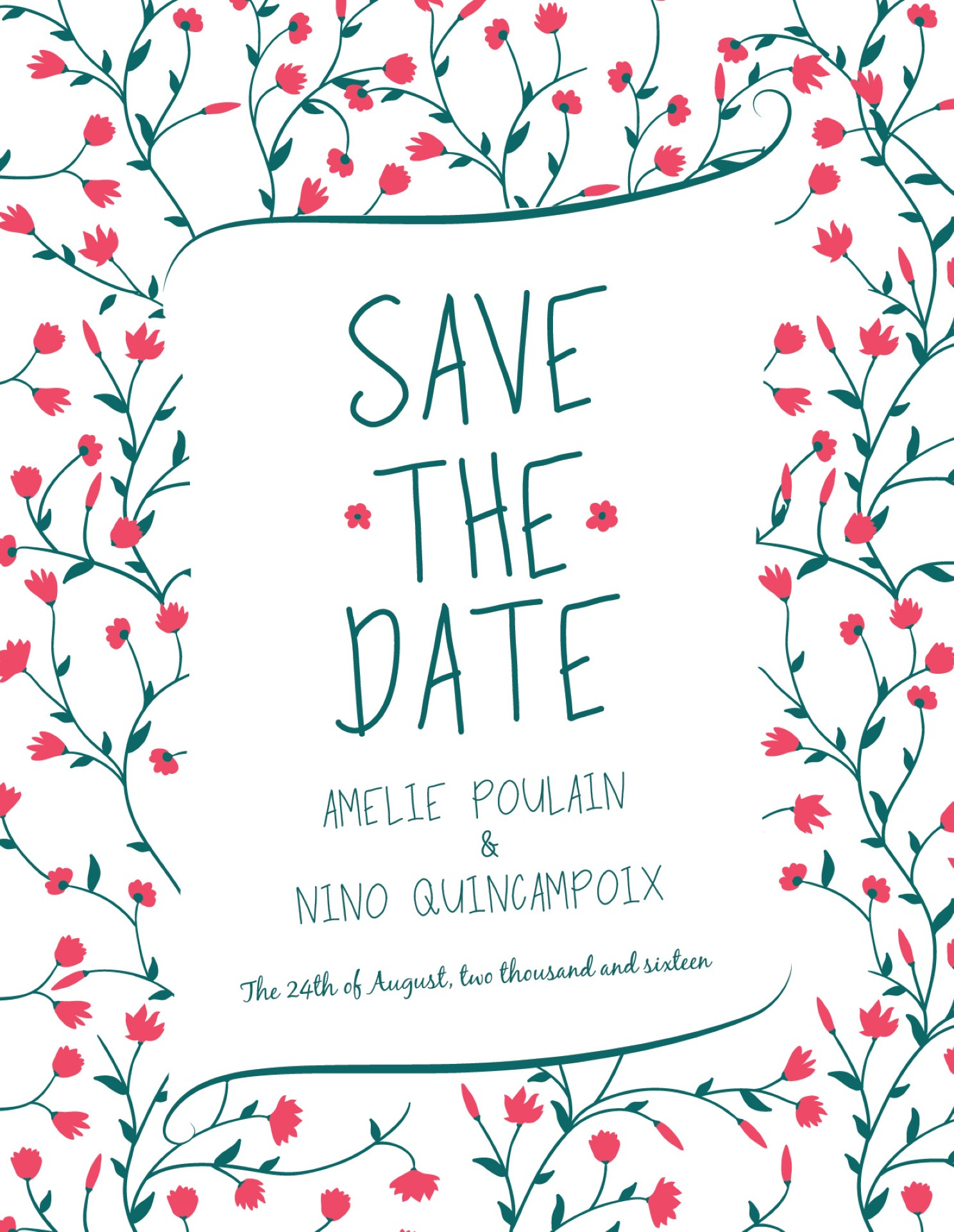In Bloom - Save the Date