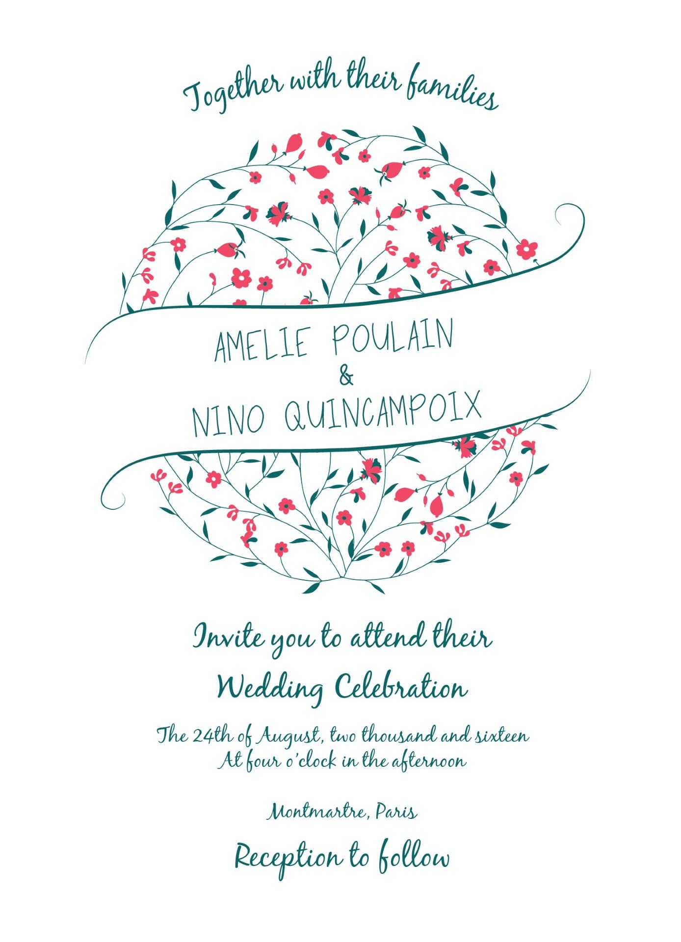 In Bloom - Invitation
