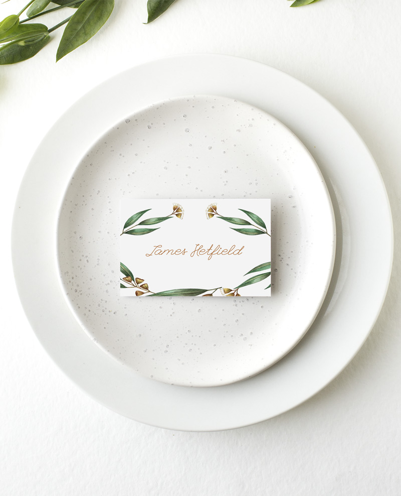 Under the Eucalyptus - Place Card