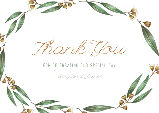 Under the Eucalyptus - Thank You Cards