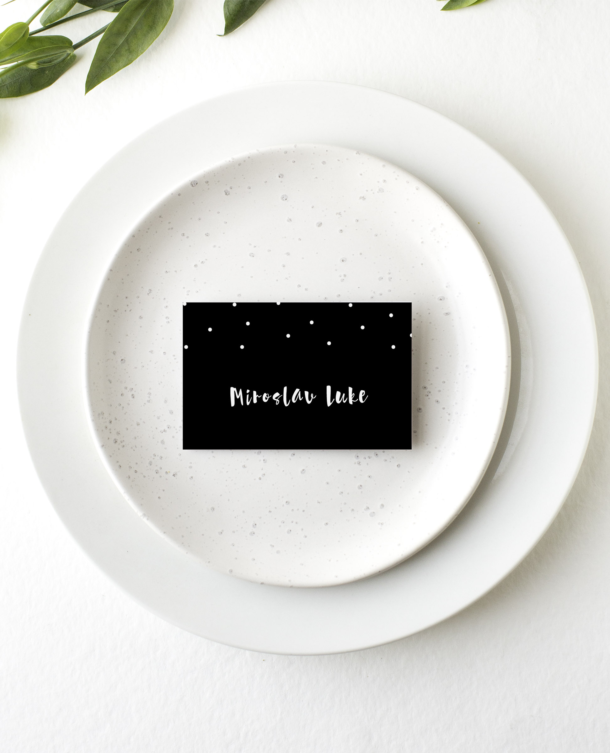 Dots - Place Card