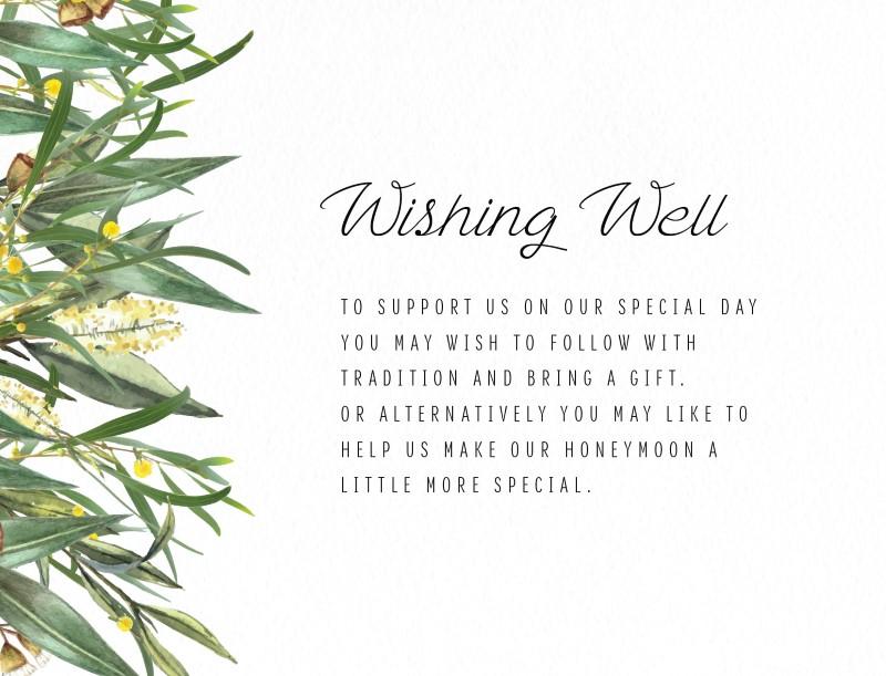 A Bouquet - Wishing Well