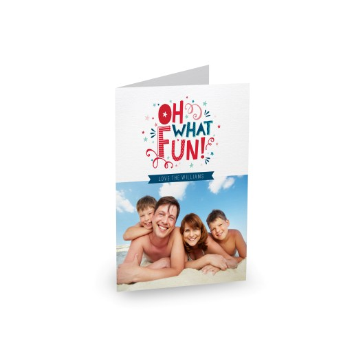 Fun Type Photo - Greeting Cards