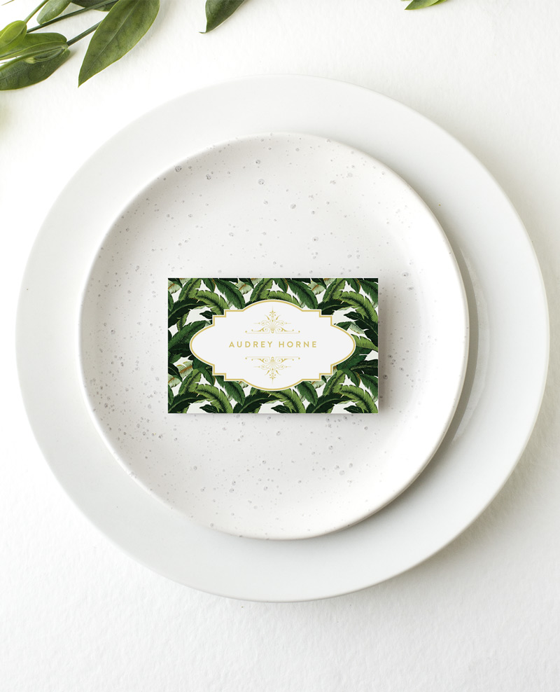 Beverly Hills Hotel - Place Card