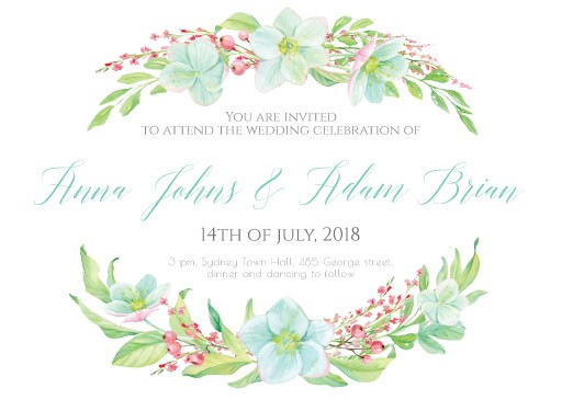 Hellebore - Invitations