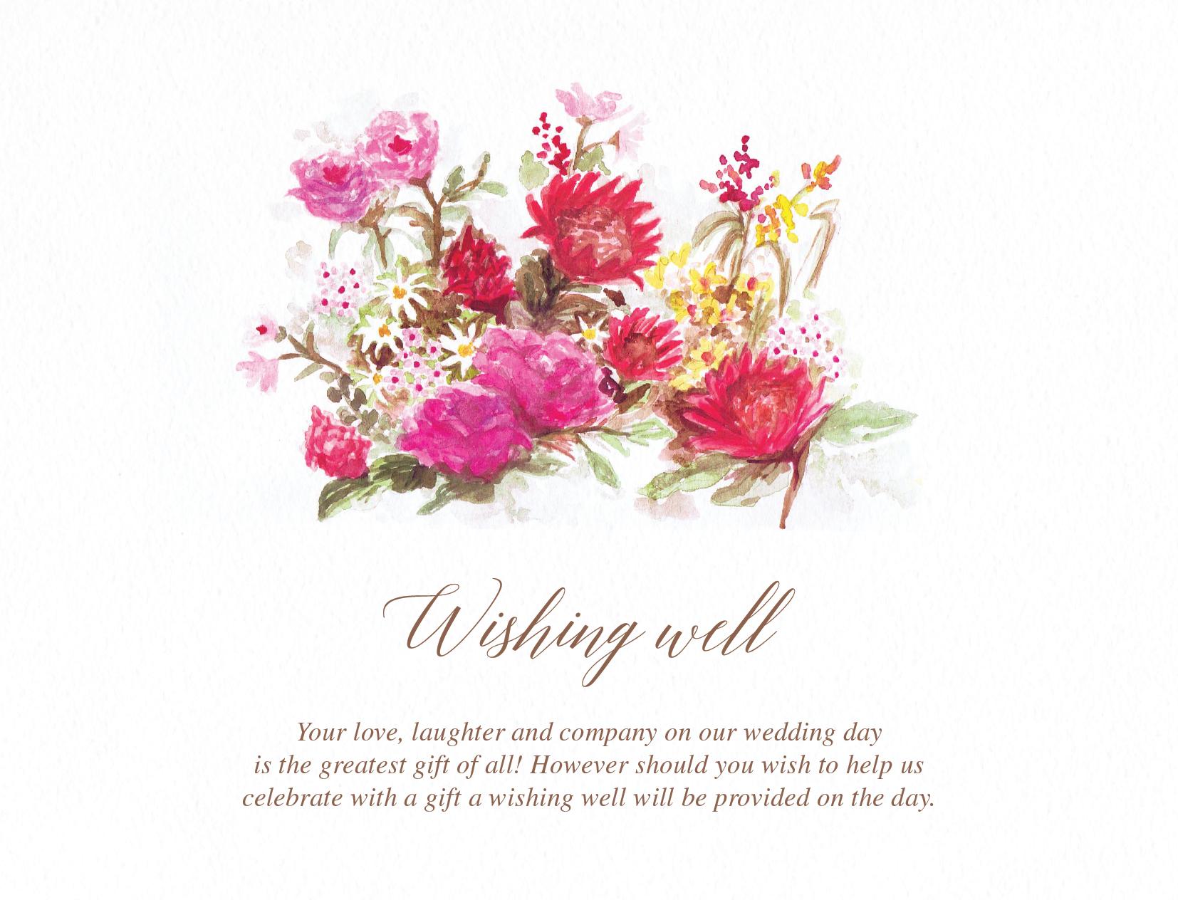 Flowers Hill - Wishing Well