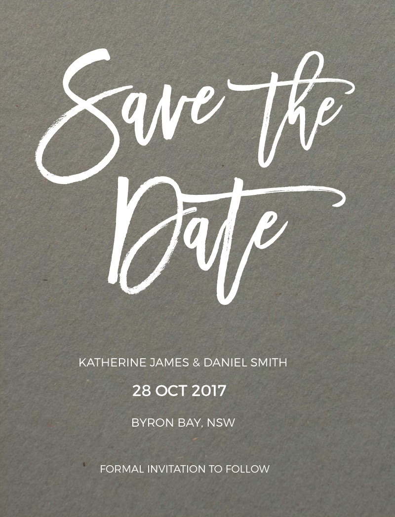 Simply Carefree - Save The Date