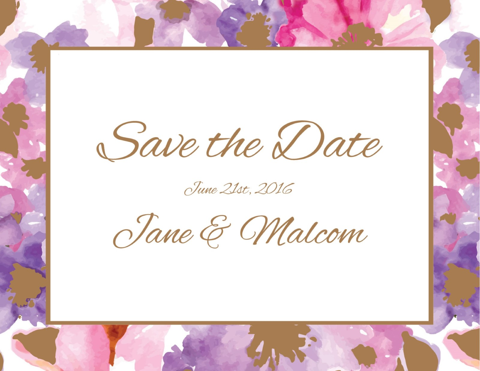 Spring - Save the Date