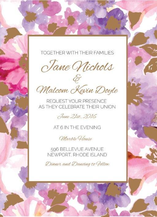 Spring - Invitation