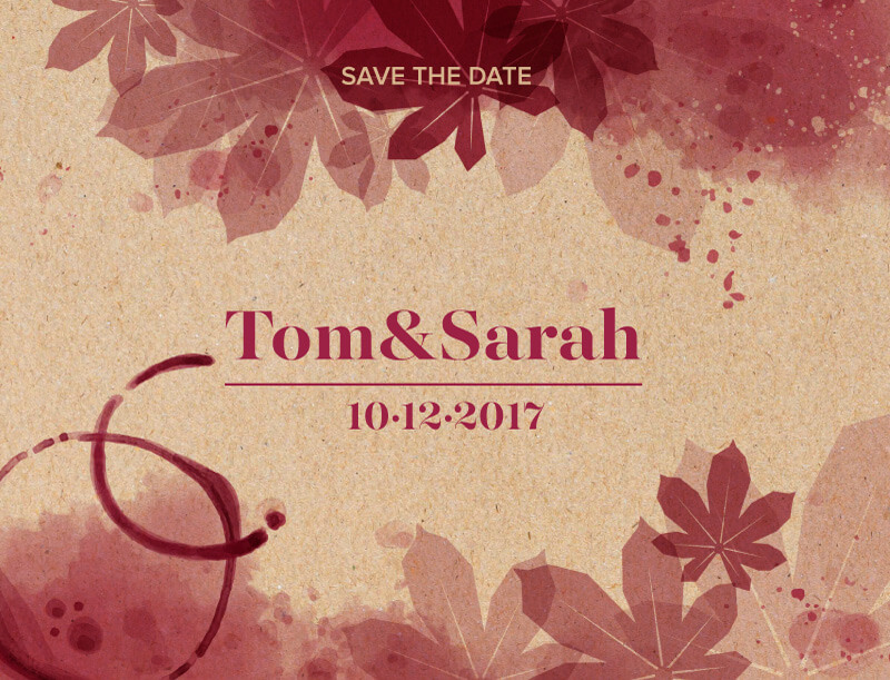 Secret Vineyard - Save The Date