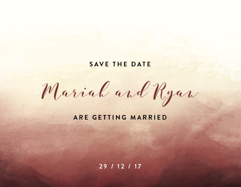 Mystical Sunset - Save The Date
