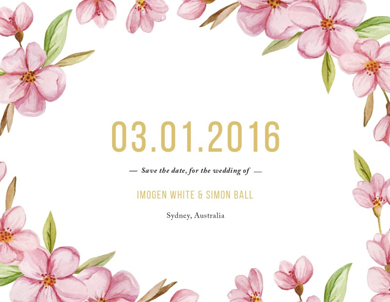 Wreath - Save The Date