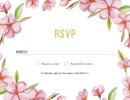Wreath - RSVP Cards