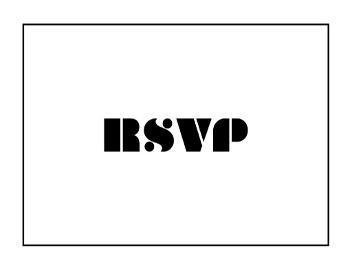 Pop Fizz Clink - RSVP Cards