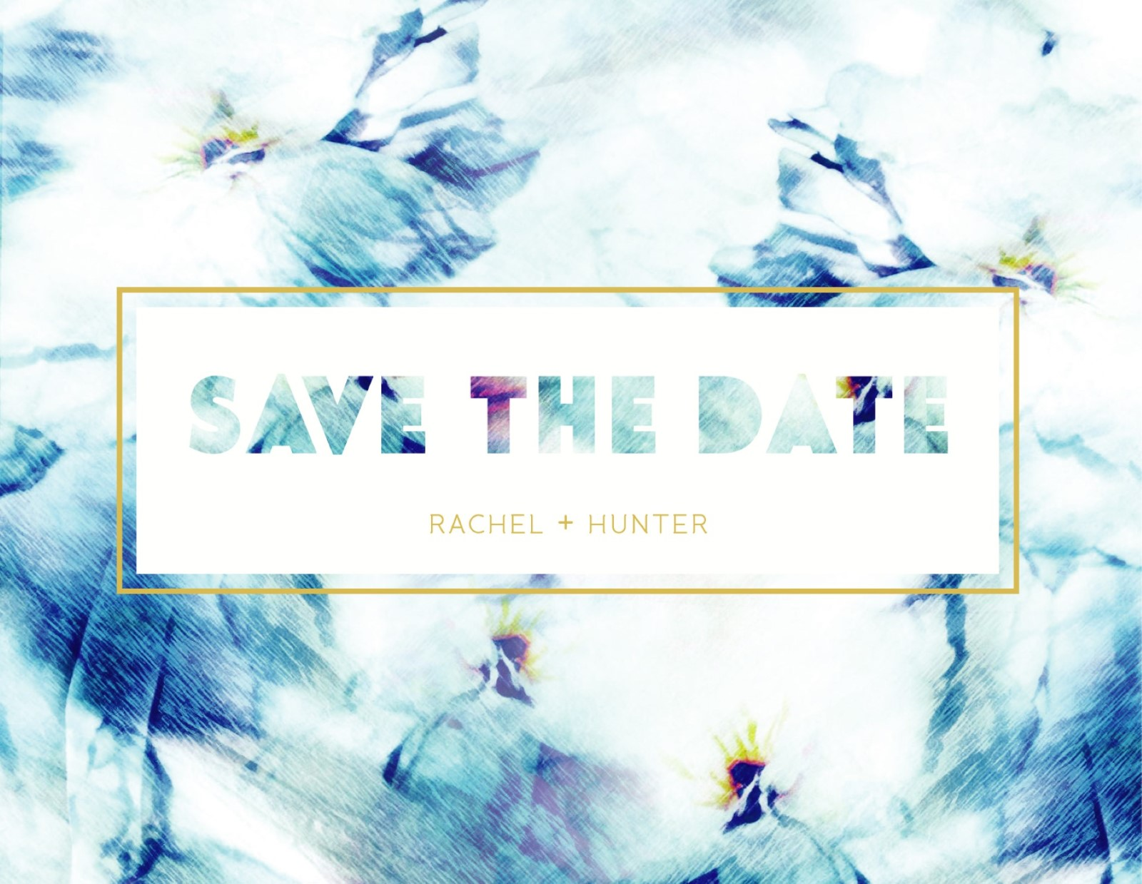 Peacock - save the date