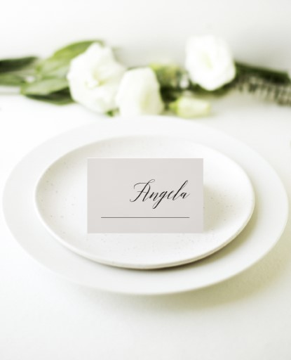 On the Day - Place Cards