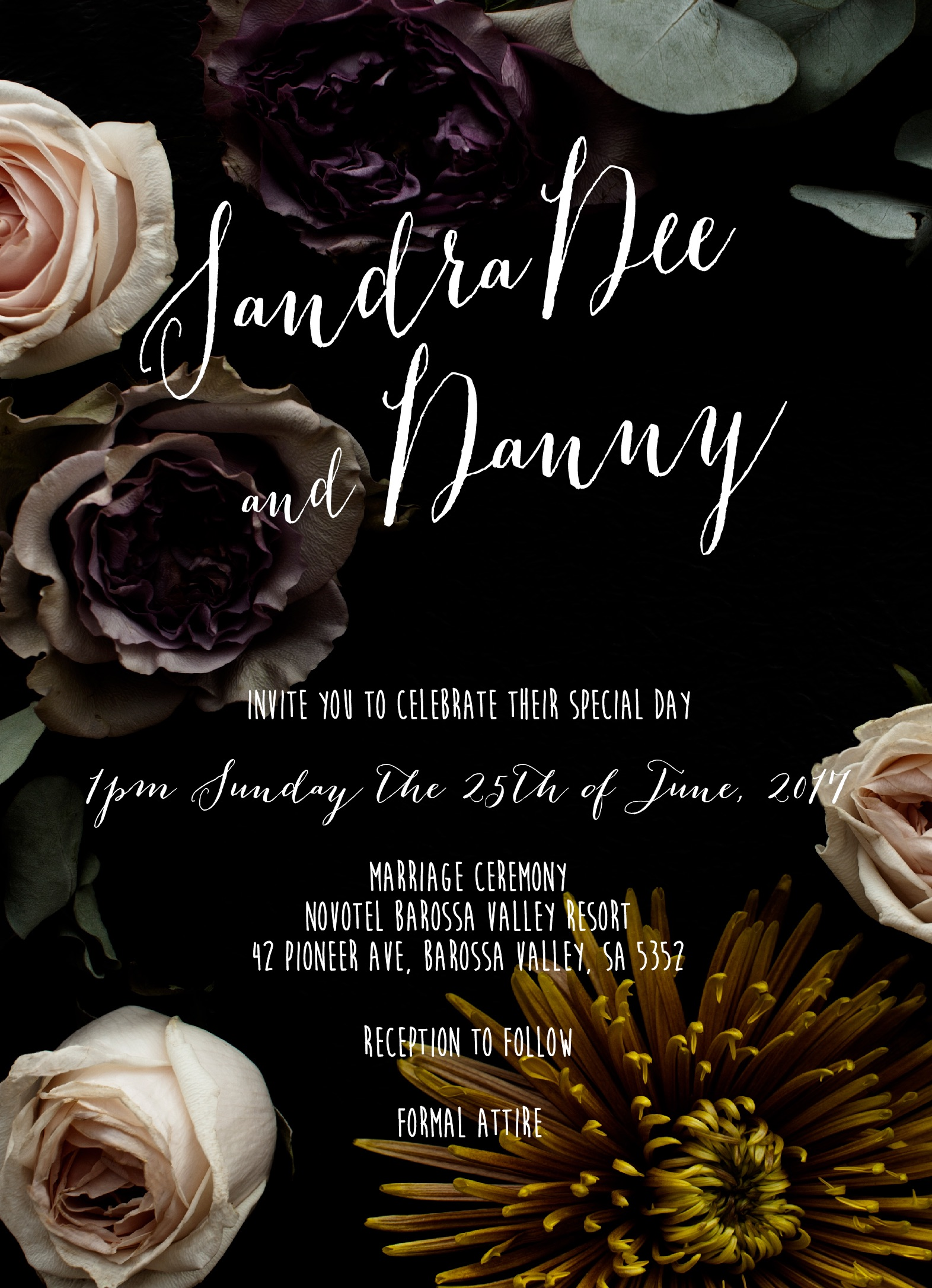 Bouquet - Wedding Invitations