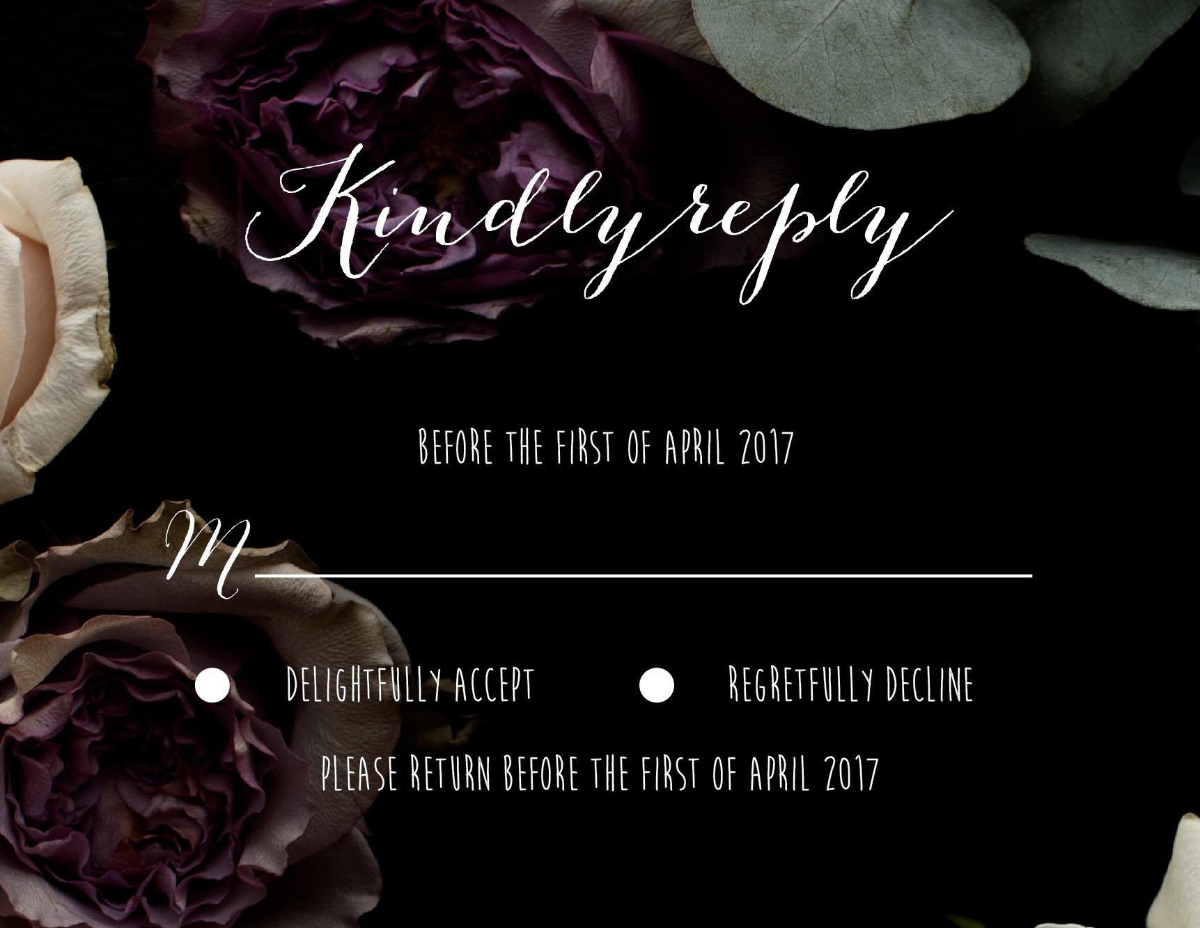 Bouquet - RSVP