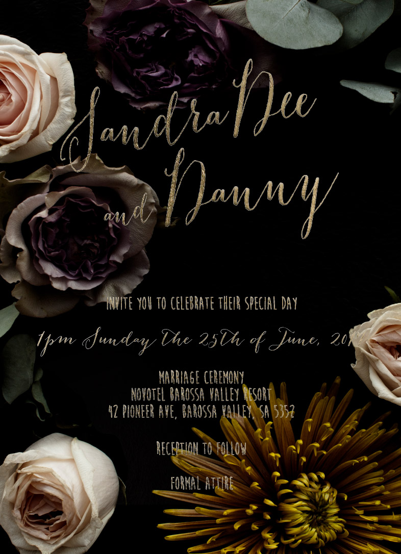Bouquet - Wedding Invitations