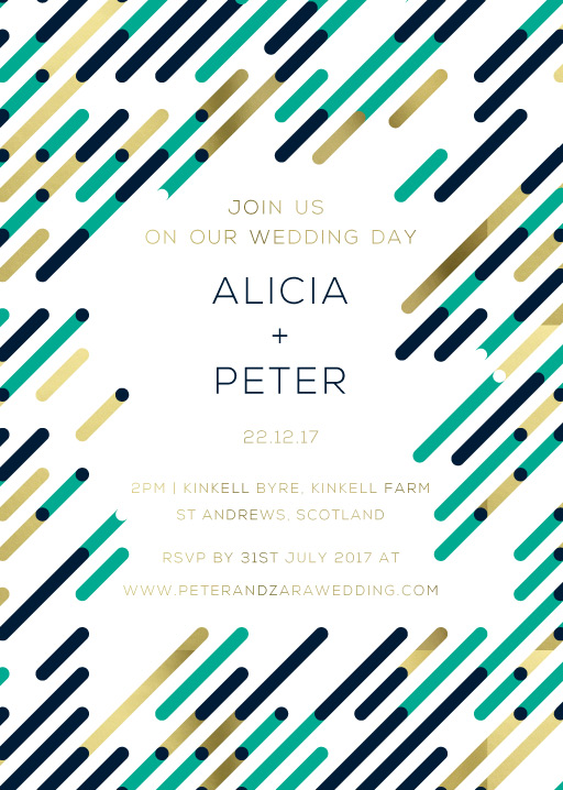 Highway Wedding Invitations - wedding invitations
