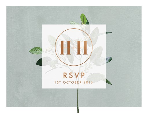 Garden Estate - RSVP Cards