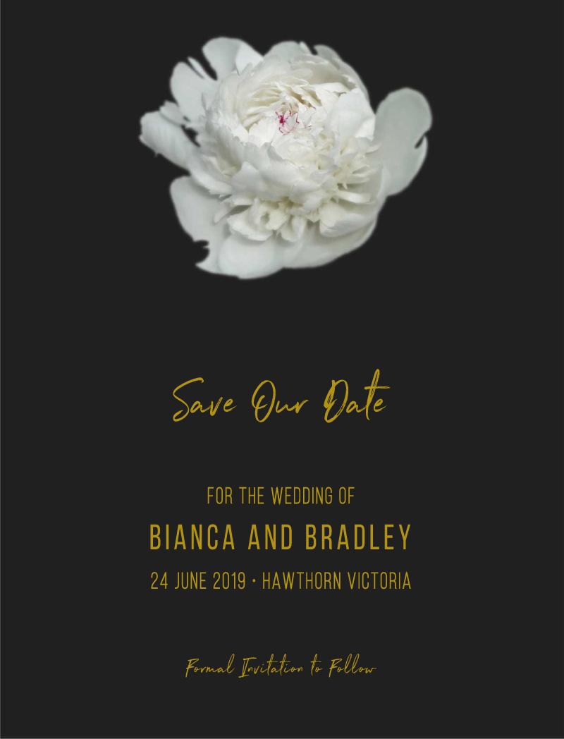 Gardenia - Save The Date