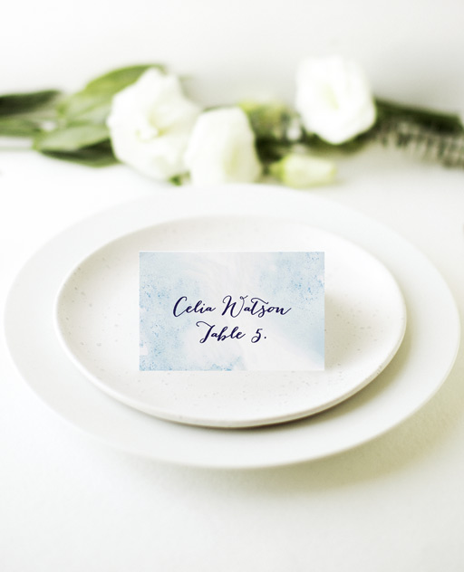 Splash - Place Cards
