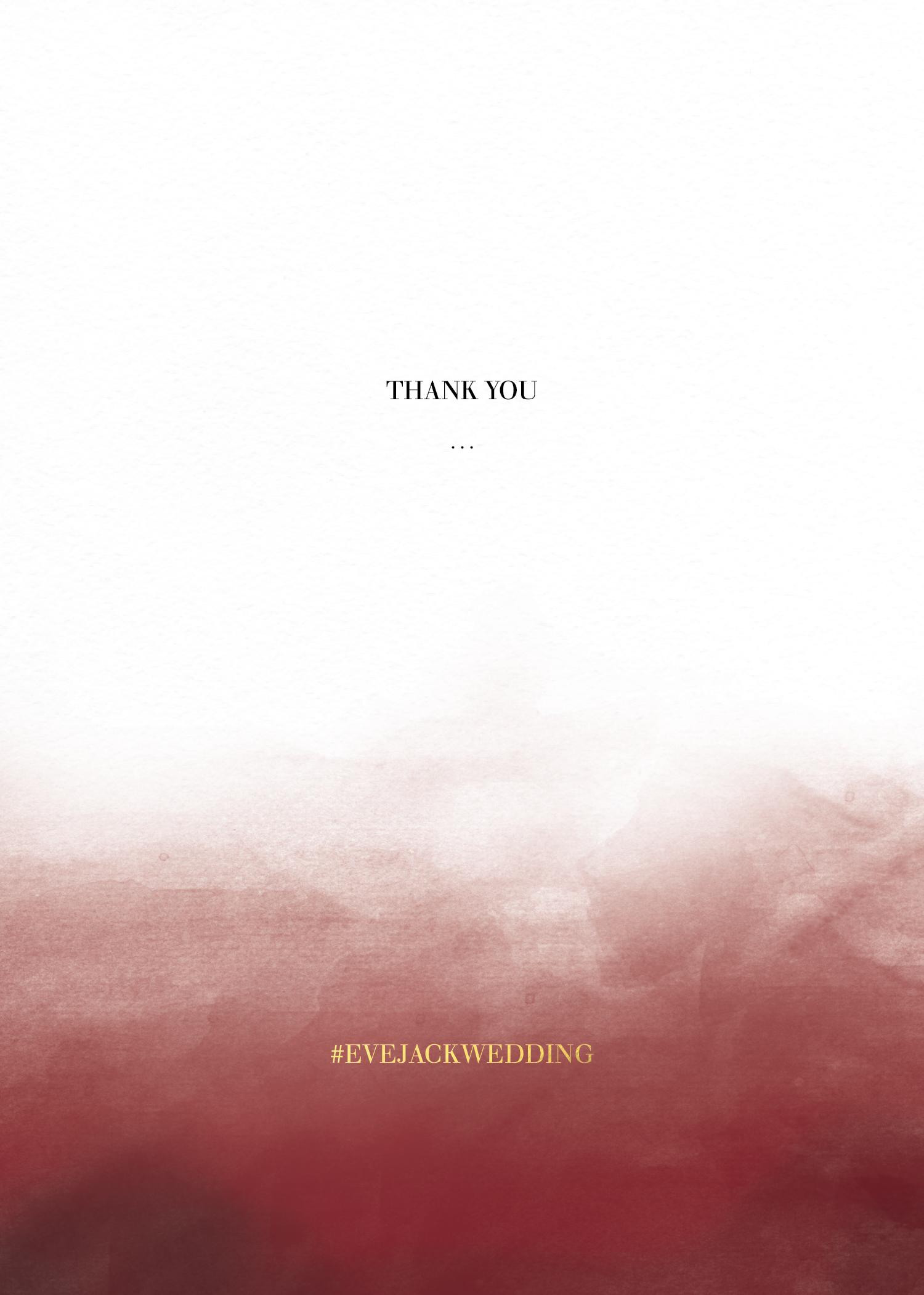 Maroon Love - Thank You