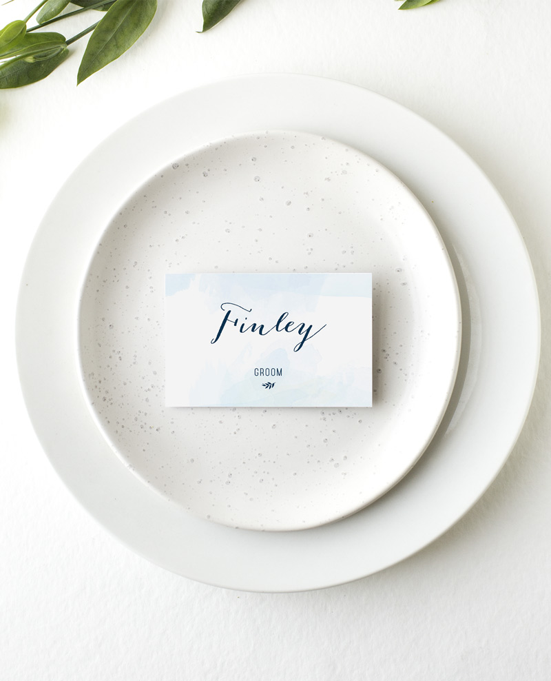 Clouds - Place Card